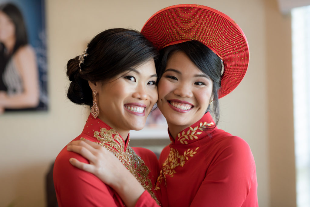 sister's double wedding