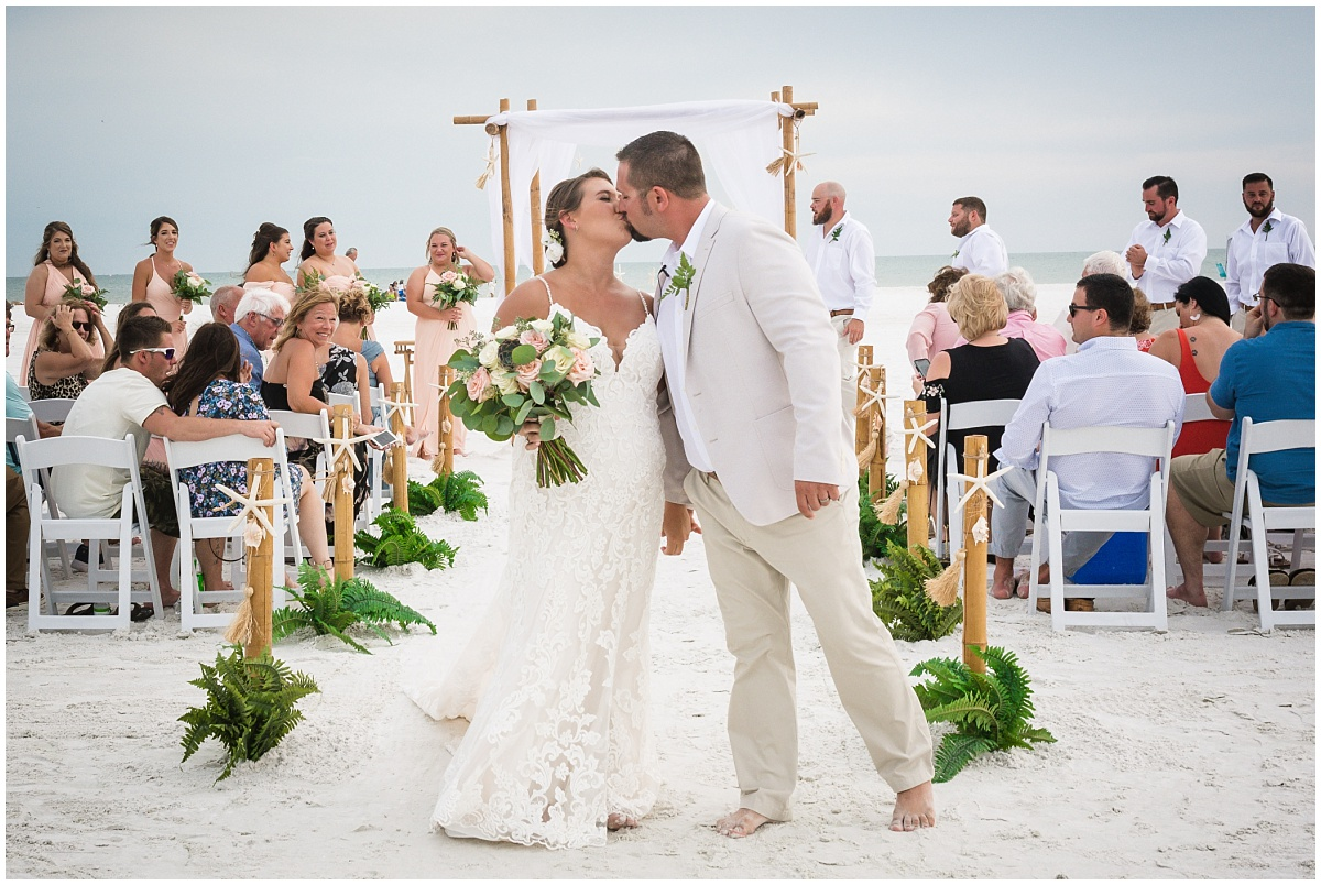 Siesta Key Beach wedding latanya and co weddings