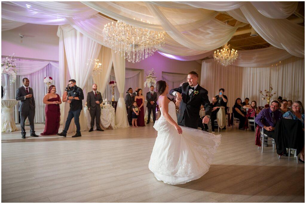 Crystal Ballroom Clearwater Wedding in Florida